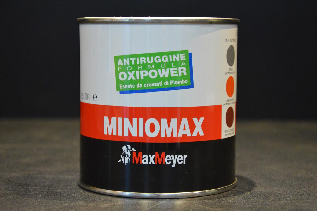 Colori Per Esterni Max Meyer : Delucchi colori miniomax max meyer minio di piombo minio