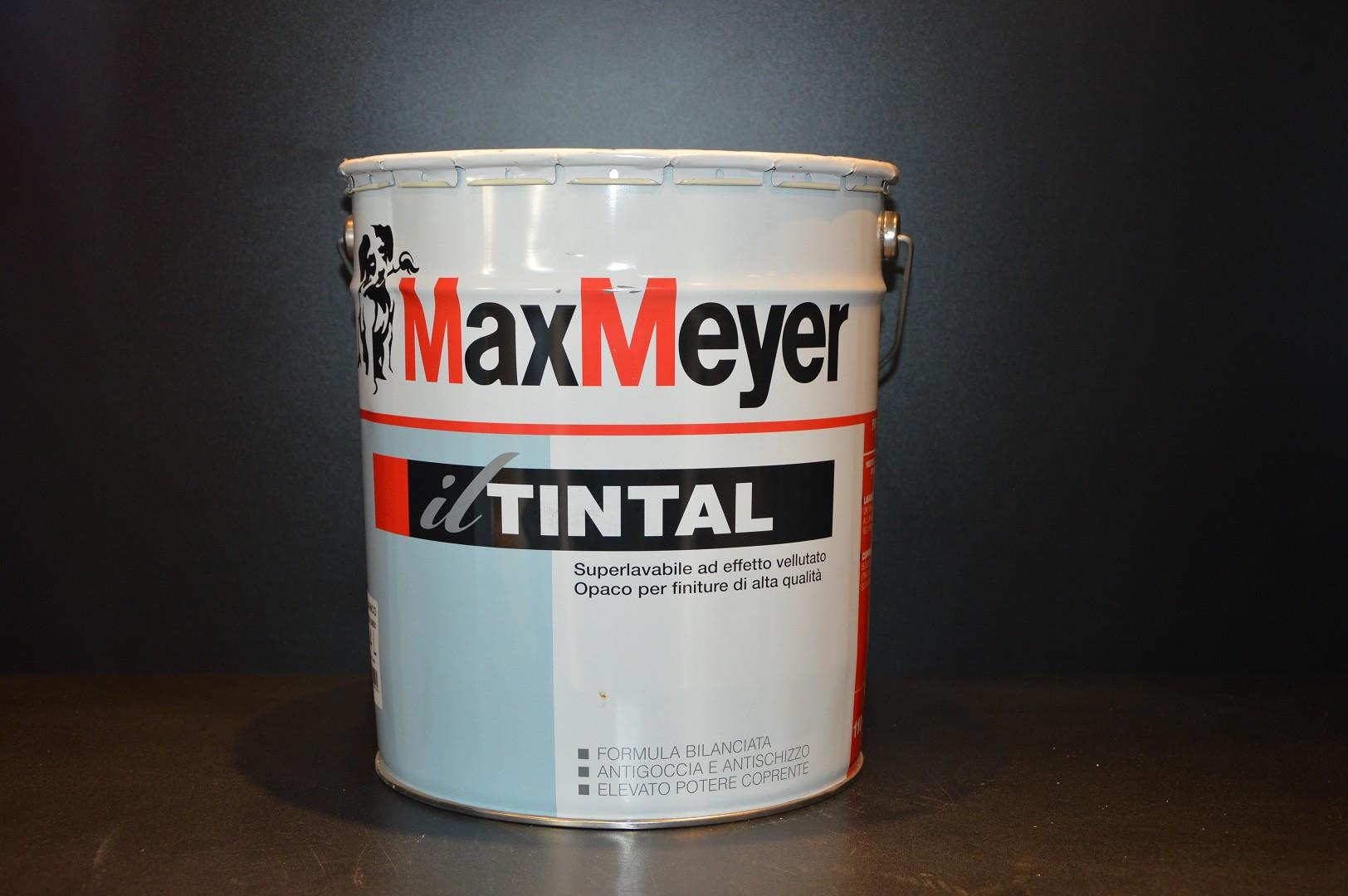 Colori Per Esterni Max Meyer : Delucchi colori tintal max meyer superlavabile pittura lavabile